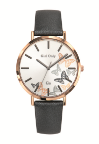 Zegarek  GO Girl Envole-Moi Grey Rose Gold Silver