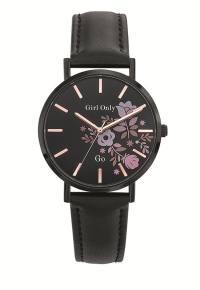 Zegarek  GO Girl Seduis-moi Full Black Flowers